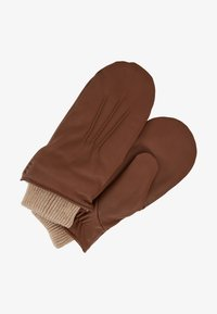 Royal RepubliQ - GROUND MITTENS - Fäustling - cognac - 0