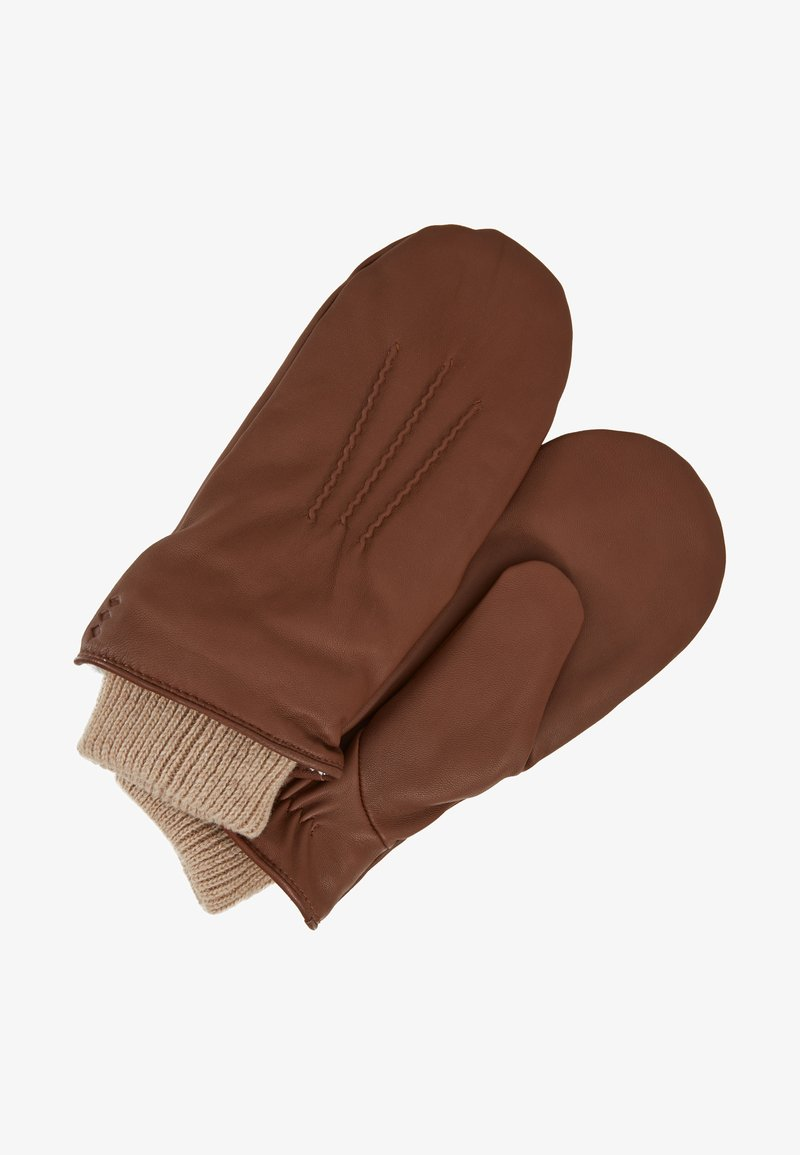 Royal RepubliQ - GROUND MITTENS - Fäustling - cognac