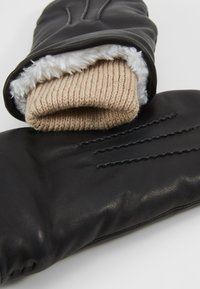 Royal RepubliQ - GROUND MITTENS - Manoplas - black - 3