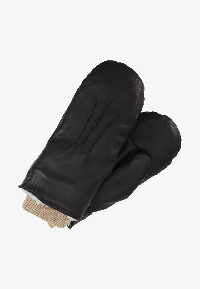 GROUND MITTENS - Fäustling - black