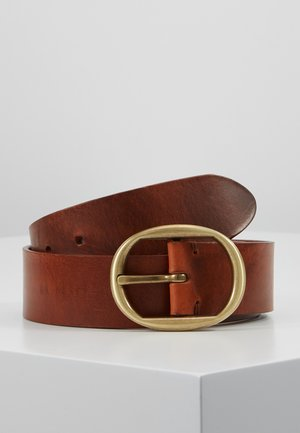 ELITE BELT - Bælter - cognac