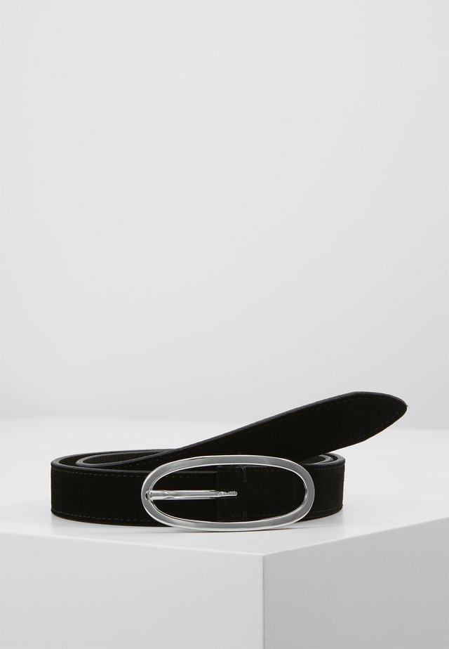 SATURN SUEDE BELT - Ceinture - black