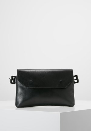 DARTH BUM BAG - Ledvinka - black