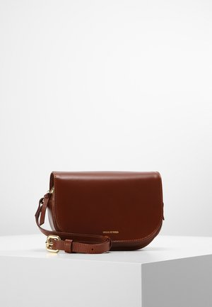 RAF CURVE EVENING BAG - Across body bag - cognac