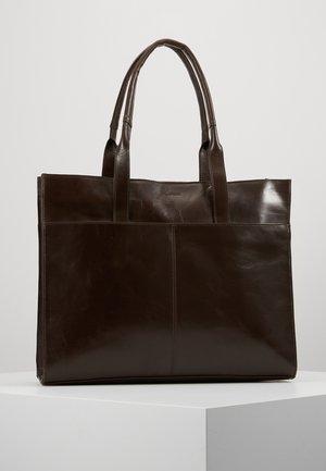 BULLET SHOPPER - Shoppingväska - brown