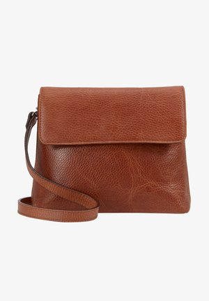 PURE EVENING BAG - Skuldertasker - cognac