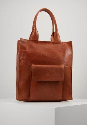 PURE TOTE - Tote bag - cognac