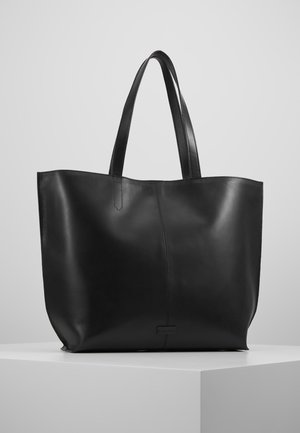 FUSION SHOPPER - Tote bag - black