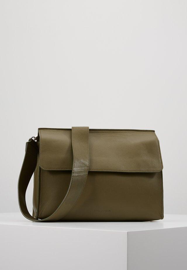 ELITE HANDBAG - Across body bag - olive
