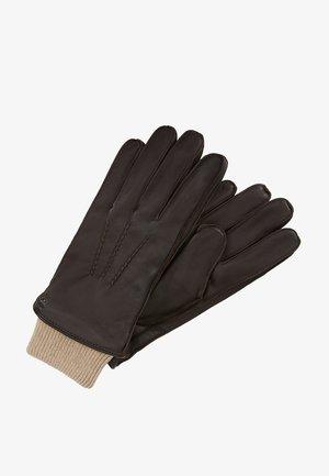 EXPLORER GLOVES - Gloves - brown