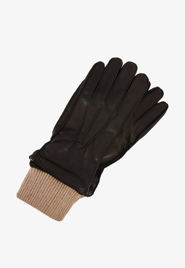 EXPLORER GLOVES - Sormikkaat - black