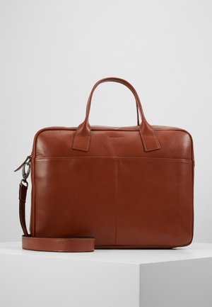 BULLET LAPTOP BAG - Stresskoffert - cognac
