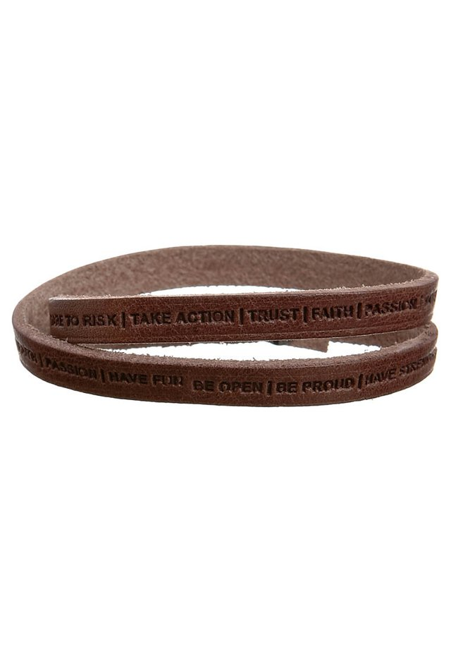 PHILOSOPHY - Armband - brown