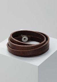 Royal RepubliQ - SPIRAL BRACELET - Armband - brown - 3