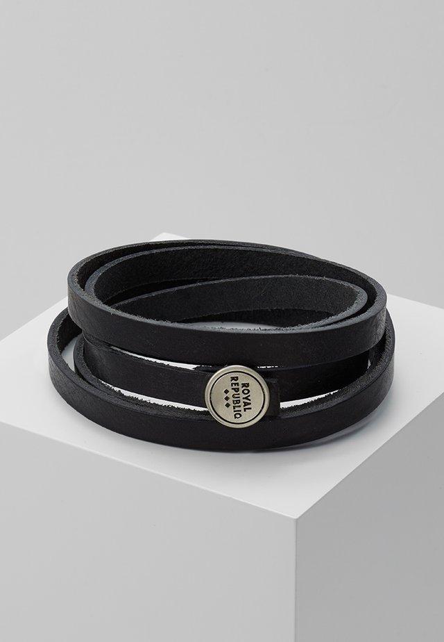 SPIRAL BRACELET - Armband - black