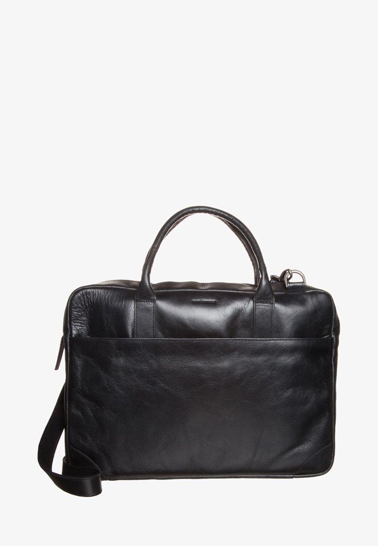 Royal RepubliQ - EXPLORER LAPTOP BAG SINGLE - Attachetasker - black