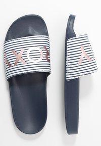 Roxy - SLIPPY  - Pantofle - blue indigo - 1
