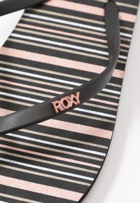 Roxy - VIVA STAMP - Badesandaler - black - 2