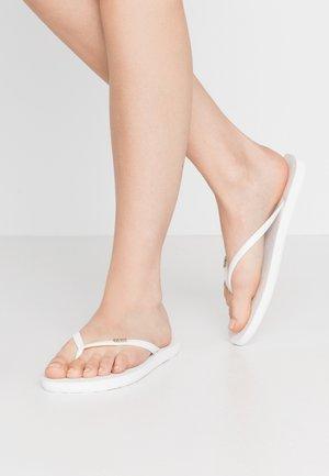 Teenslippers - soft white