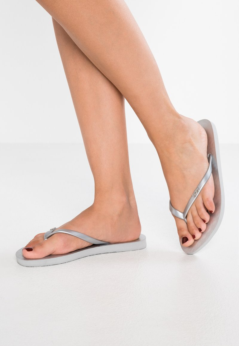 Roxy - VIVA  - T-bar sandals - silver