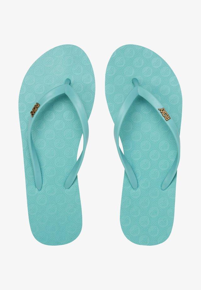Pool shoes - blue curacao
