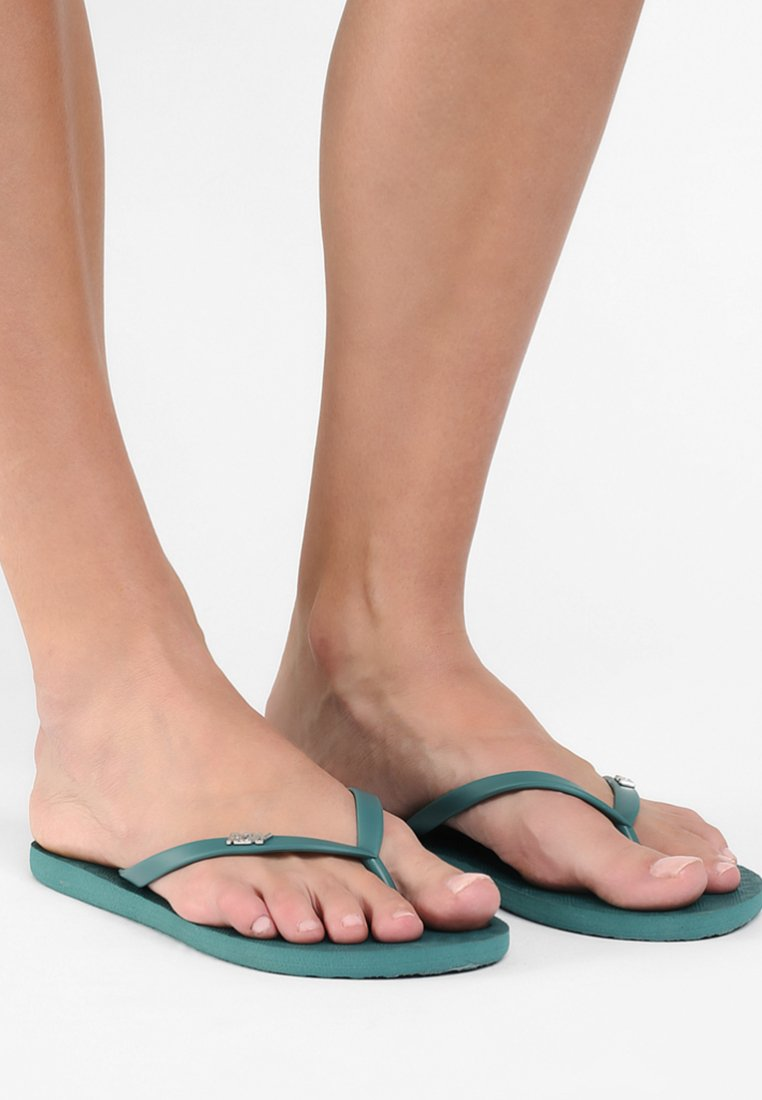 Roxy - VIVA  - Pool shoes - dark green
