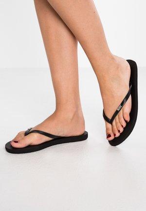 VIVA  - T-bar sandals - black