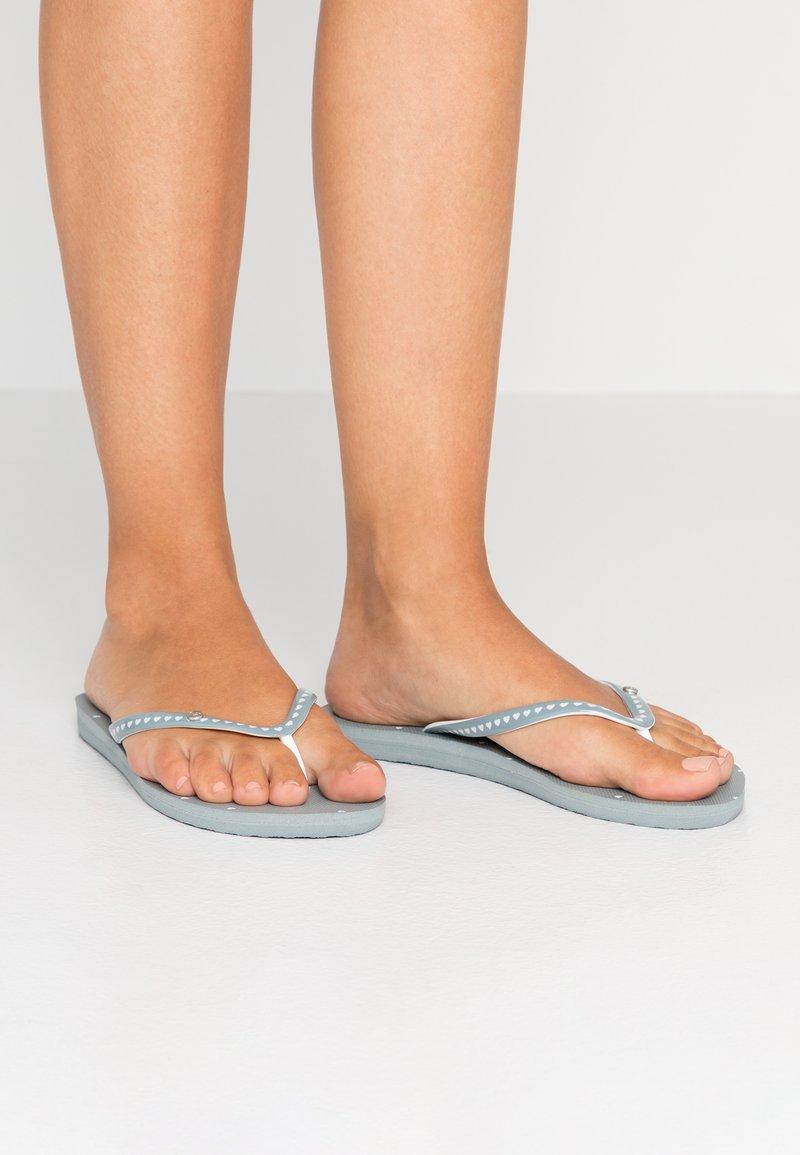 Roxy - Pool shoes - grey ash
