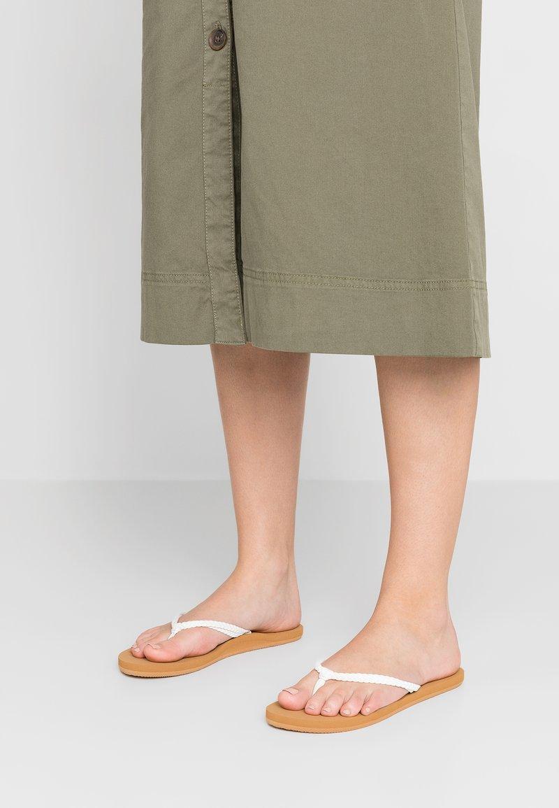 Roxy - COSTAS - T-bar sandals - white