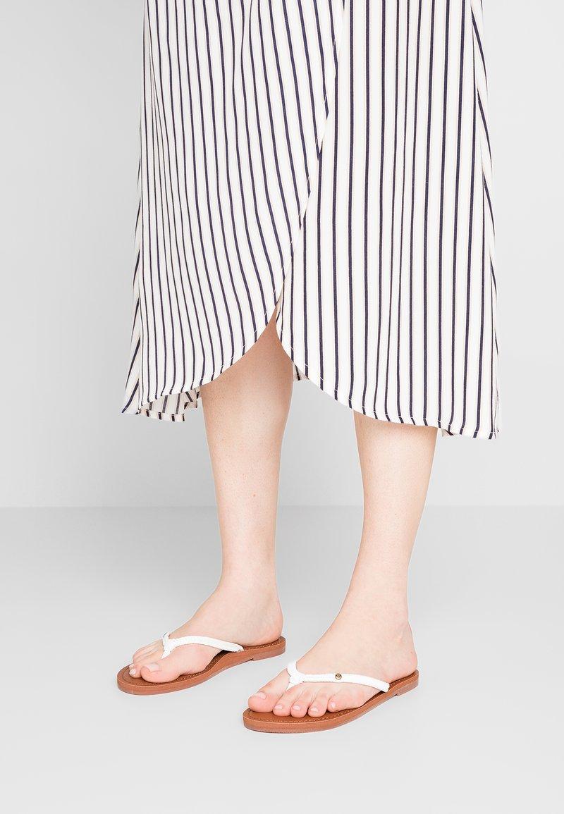 Roxy - MISTY - T-bar sandals - white