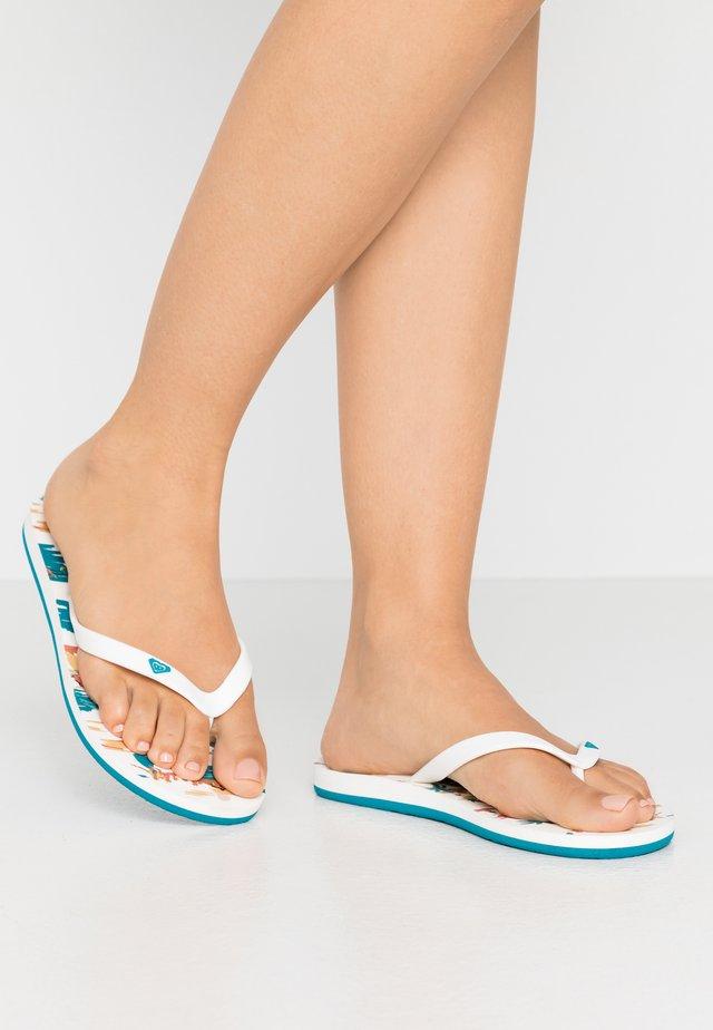TAHITI VII - T-bar sandals - multicolor