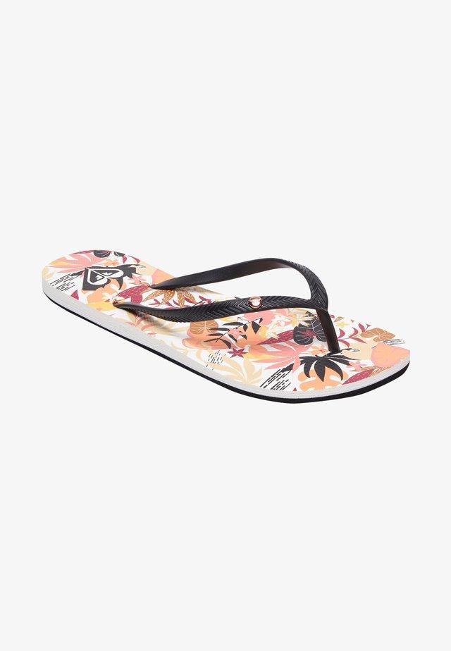 BERMUDA - Pool shoes - mottled black