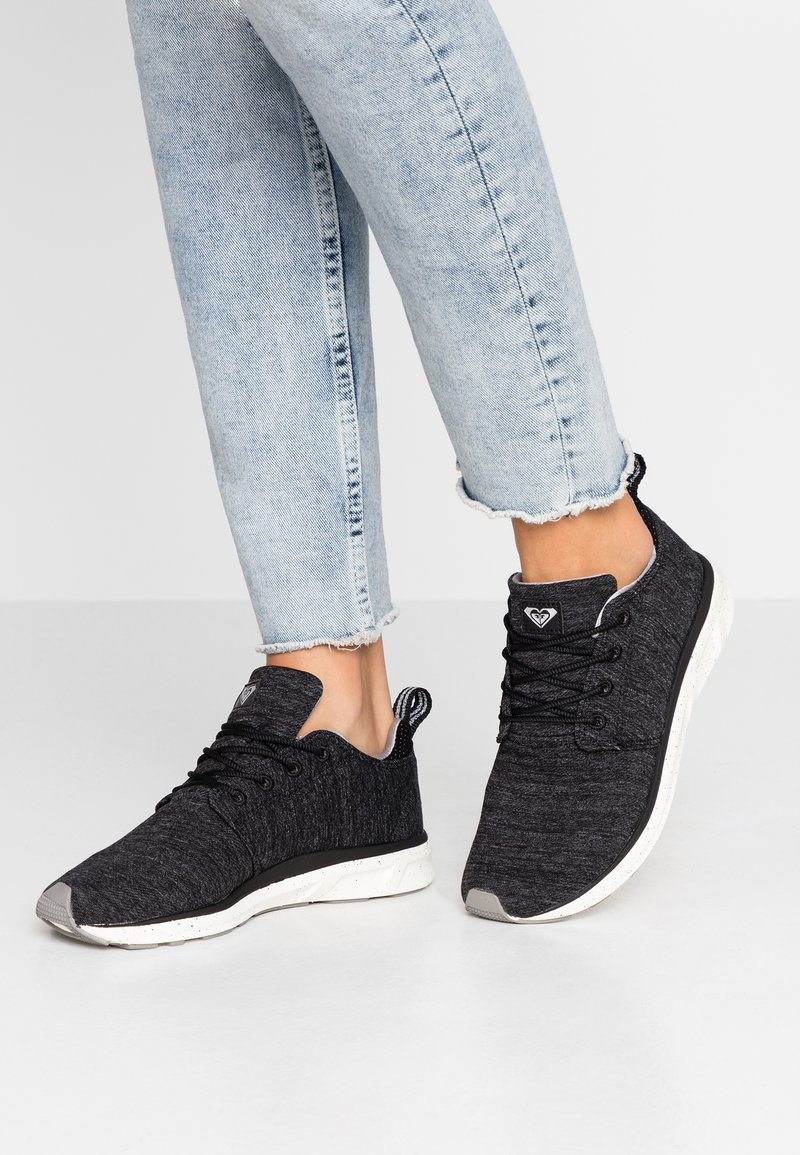 Roxy - SET SESSION SHOE - Trainers - black dark used