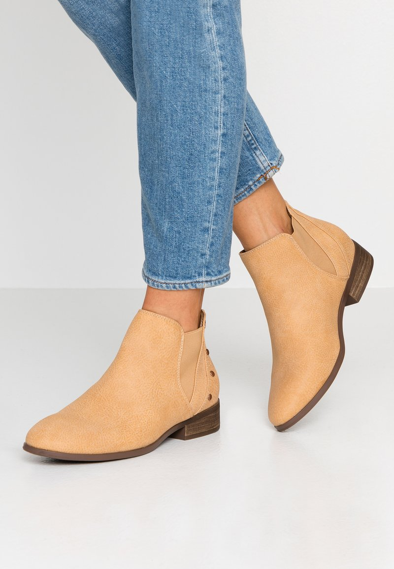 Roxy - YATES - Ankle Boot - tan