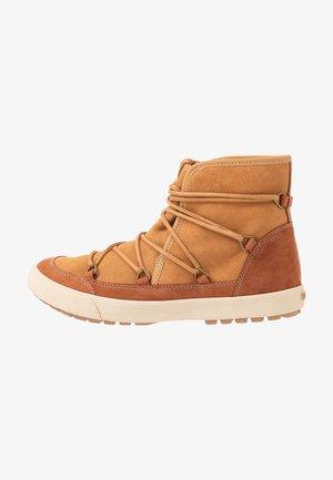 DARWIN  - Boots à talons - camel