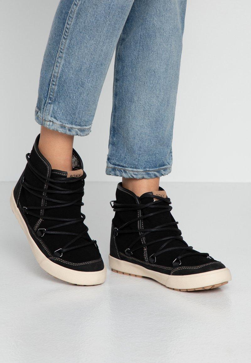 Roxy - DARWIN  - Kotníková obuv - black