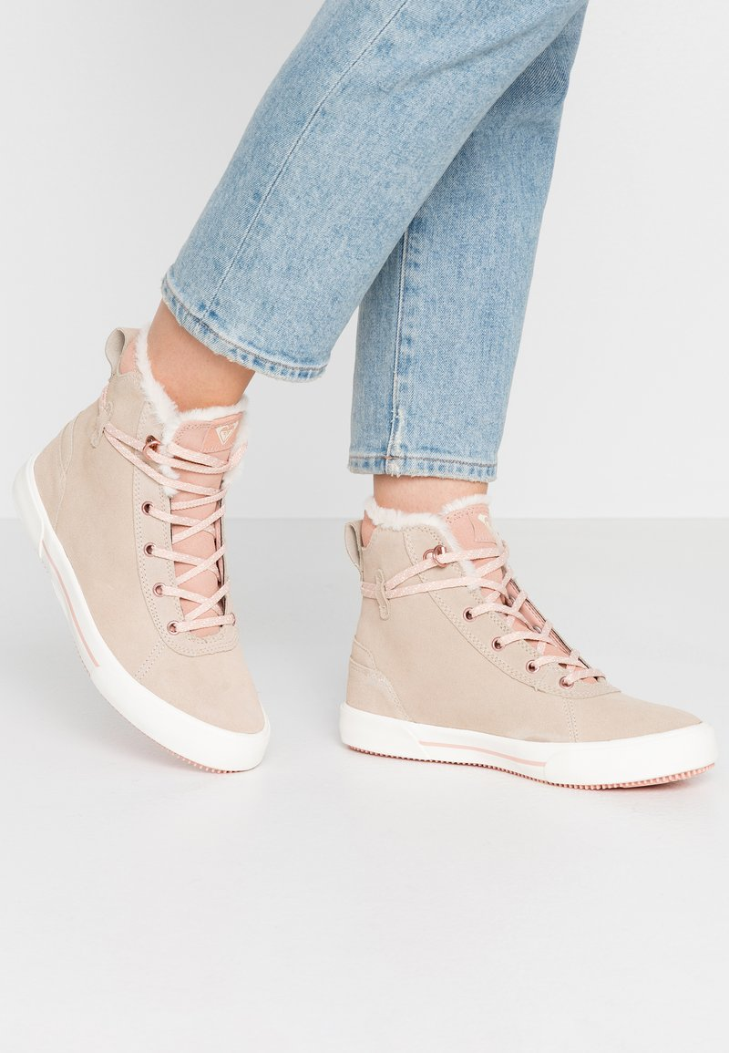 Roxy - ERIKA SHOE - High-top trainers - taupe