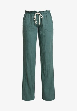 OCEANSIDE PANT - Pantalones - duck green