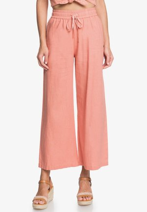 REDONDO BEACH  - Trousers - tawny orange