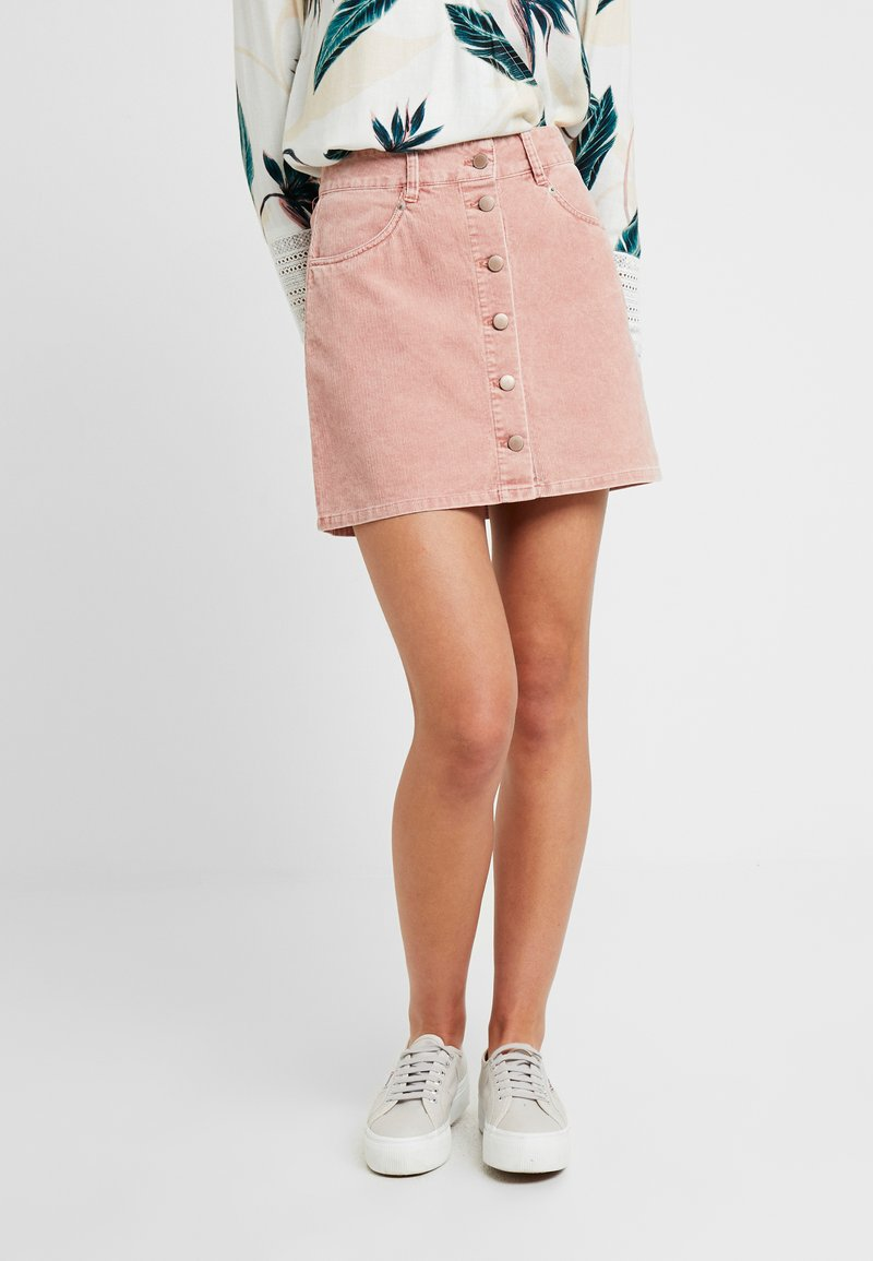 Roxy - UNFORGETTABLE - A-line skirt - cedar wood