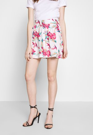 SHALLOW END - A-line skirt - snow white