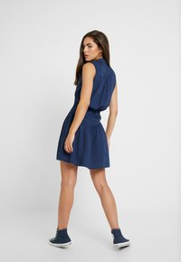 Roxy - SISTER X SHINY NIGHT - Shirt dress - dress blues - 2