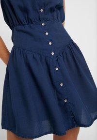 Roxy - SISTER X SHINY NIGHT - Shirt dress - dress blues - 5