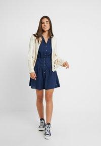 Roxy - SISTER X SHINY NIGHT - Shirt dress - dress blues - 1