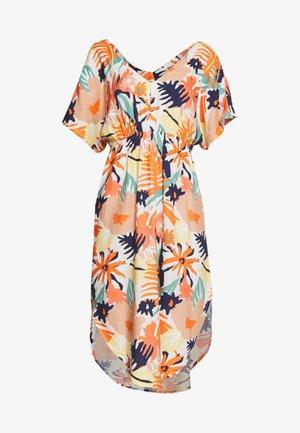 FLAMINGO SHADES - Korte jurk - peach/blush/bright skies