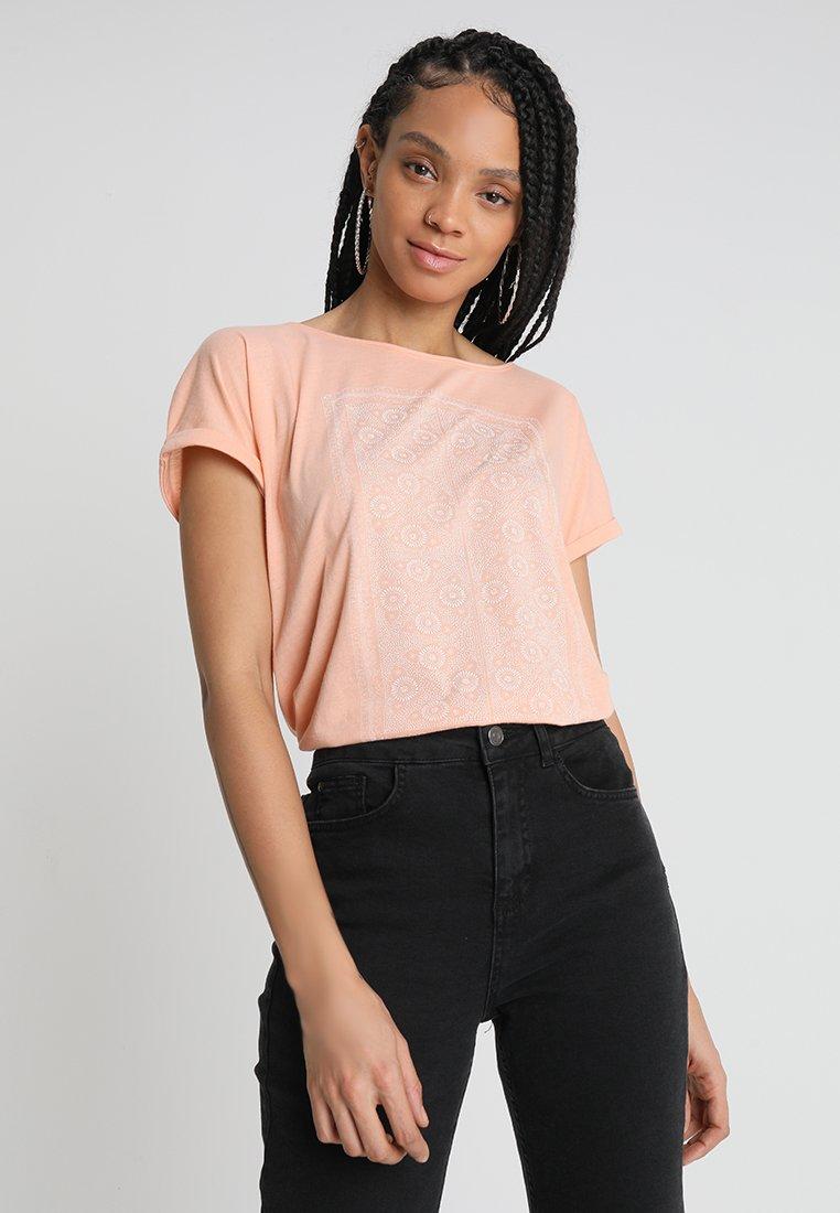 Roxy - SUMMERTIME HAPPINESS - T-Shirt print - salmon