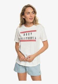 Roxy - Print T-shirt - marshmallow - 0