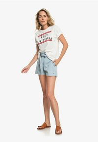 Roxy - Print T-shirt - marshmallow - 1