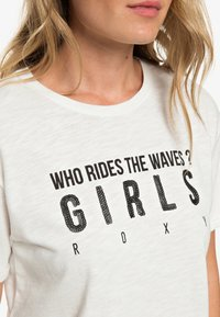 Roxy - Print T-shirt - off-white - 3