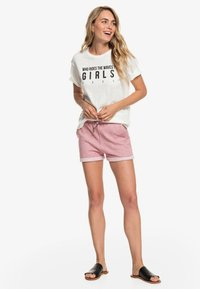 Roxy - Print T-shirt - off-white - 1